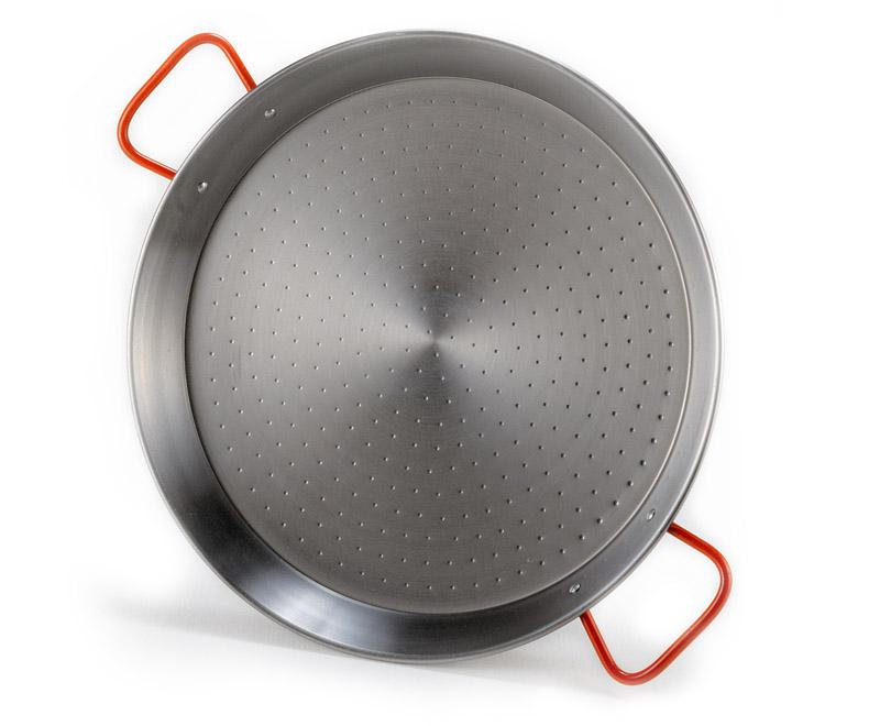 neu 42 cm paellapfanne plancha paella pfanne stahl riesenpfanne guben. Black Bedroom Furniture Sets. Home Design Ideas