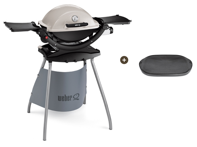 weber gasgrill gas grill q 120 stand titan keramische grillplatte umr stset ebay. Black Bedroom Furniture Sets. Home Design Ideas