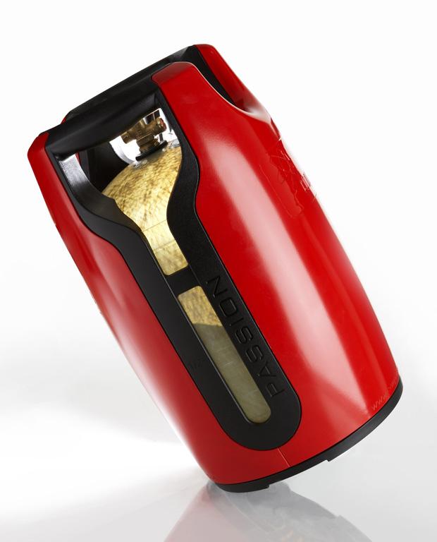 gfk kunststoff gasflasche 8 kg propangasflasche gas propan flasche 5 11 ebay. Black Bedroom Furniture Sets. Home Design Ideas