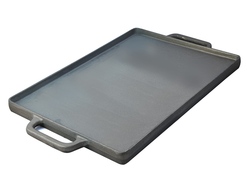 gussgrillplatte 50 x 35 cm gusseisen grillplatte 2 in 1 gas kocher grill ebay. Black Bedroom Furniture Sets. Home Design Ideas